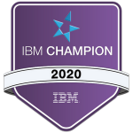 IBM Champion web badge